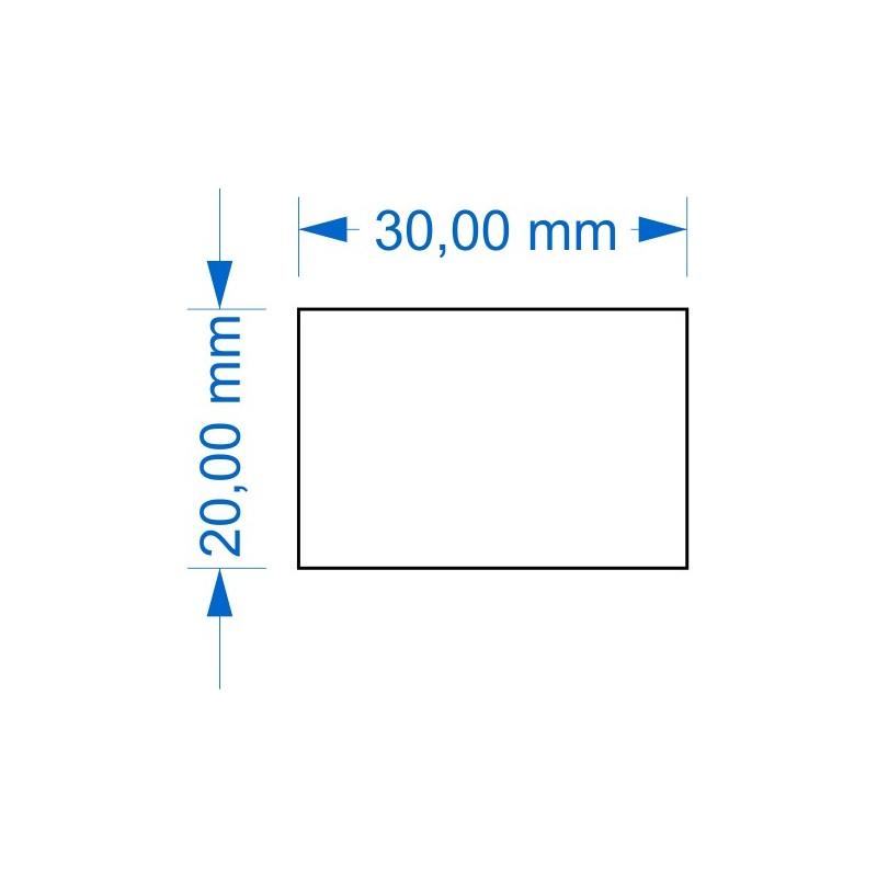 Socle 20x30mm