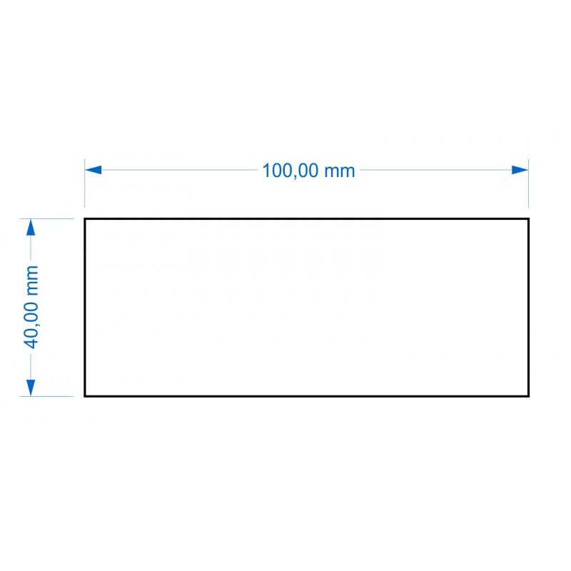 Socle 40x100mm