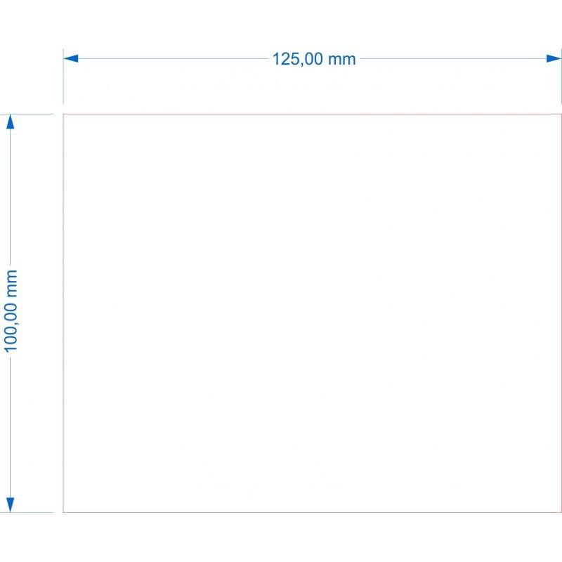 Socle 100x125mm