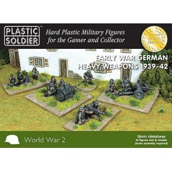 15mm Early War German Heavy...