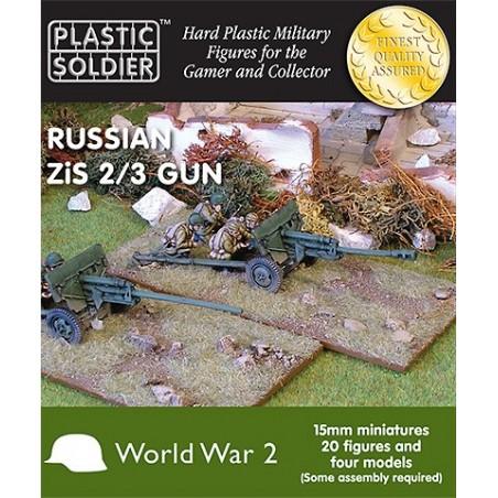 15mm Russian Zis 2 And 3 Anti Tank/Field Gun