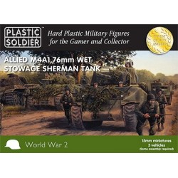 15mm Easy Assembly Sherman...