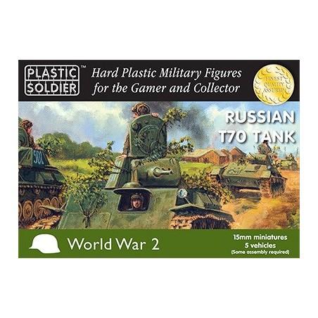 15mm Russian T70 Tank