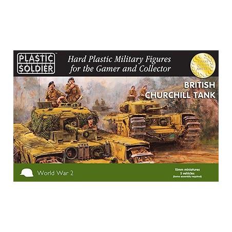 15mm Churchill Tank (5)