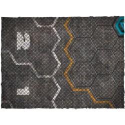 Tapis de jeu Futuristic Football - Garage - Mousepad