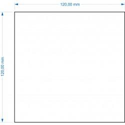 Socle 120x120mm