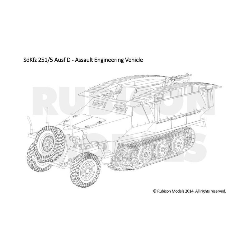 SdKfz 251D 3-in-1 Kit 1