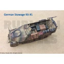 German Stowage Set 1