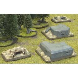 XBX02 - Machine Gun Bunkers