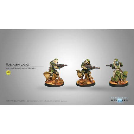 Hassassin Lasiqs (Viral Rifle + Light Shotgun)