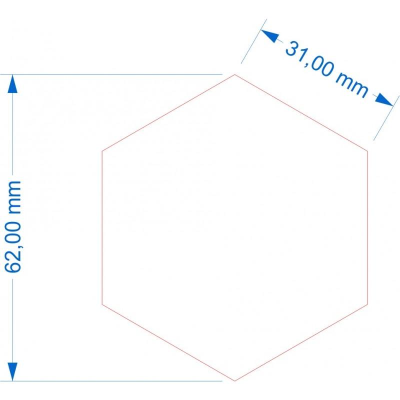 Socle Hexagonal 62mm