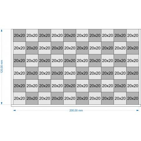 Plateau de mouvement 200x120mm