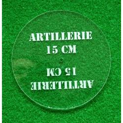 Gabarit d'artillerie 15 cm