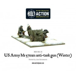 US Army 57mm anti-tank gun M1 (Winter)