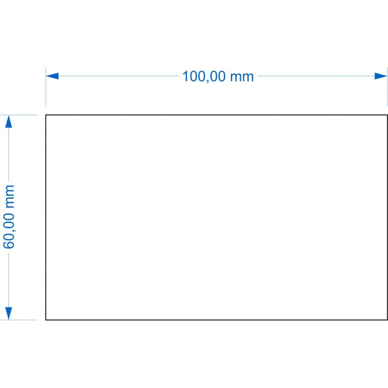 Socle 60x100mm