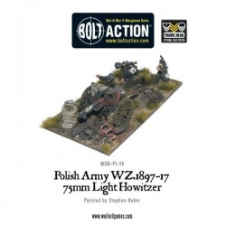 Polish Army 75mm Light Artillery