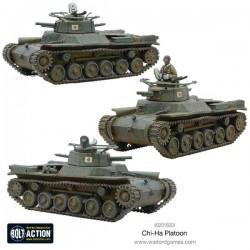 Chi-Ha Platoon
