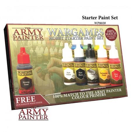 Wargames - Hobby starter paint set