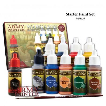 Wargames - Hobby starter paint set 2017