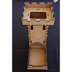 Dice Tower 4 pentes 28mm