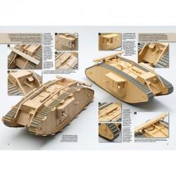 Maquettes De Blindes De La 1Ere Guerre Mondiale