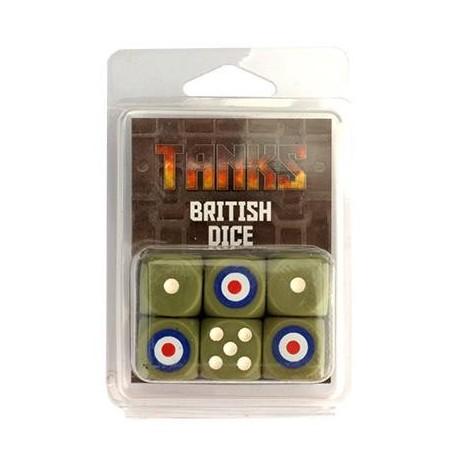 TANKS • Set de dés - Dés Britanniques (6)