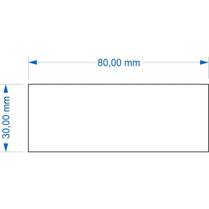 Socle 30x80mm