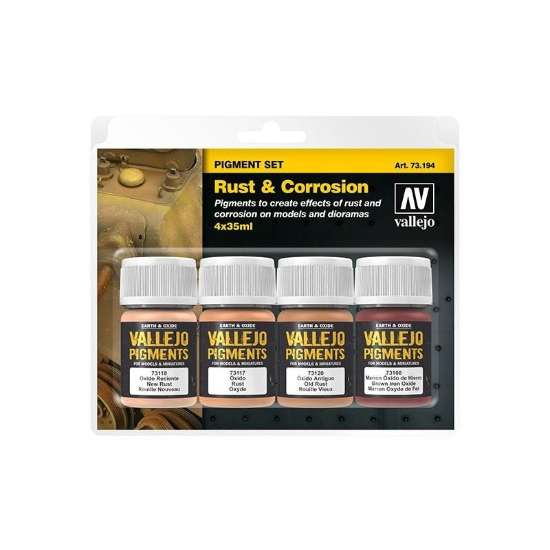 73194 - Set de Pigments rouille et corrosion