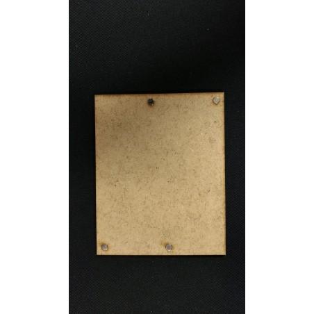 Plateau Régiment Infanterie 20x20 - 100x80mm Magnétique