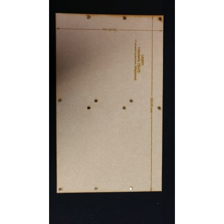 Plateau Légion Infanterie 25x25 - 250x150mm Magnétique
