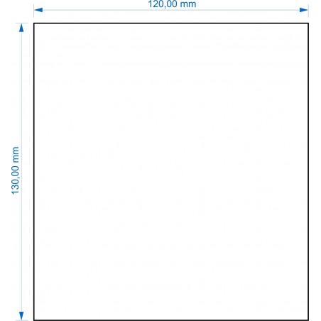 Socle 120x130mm
