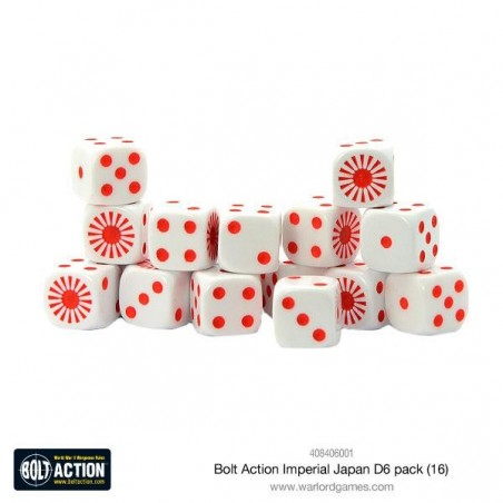 Bolt Action Imperial Japanese D6 pack
