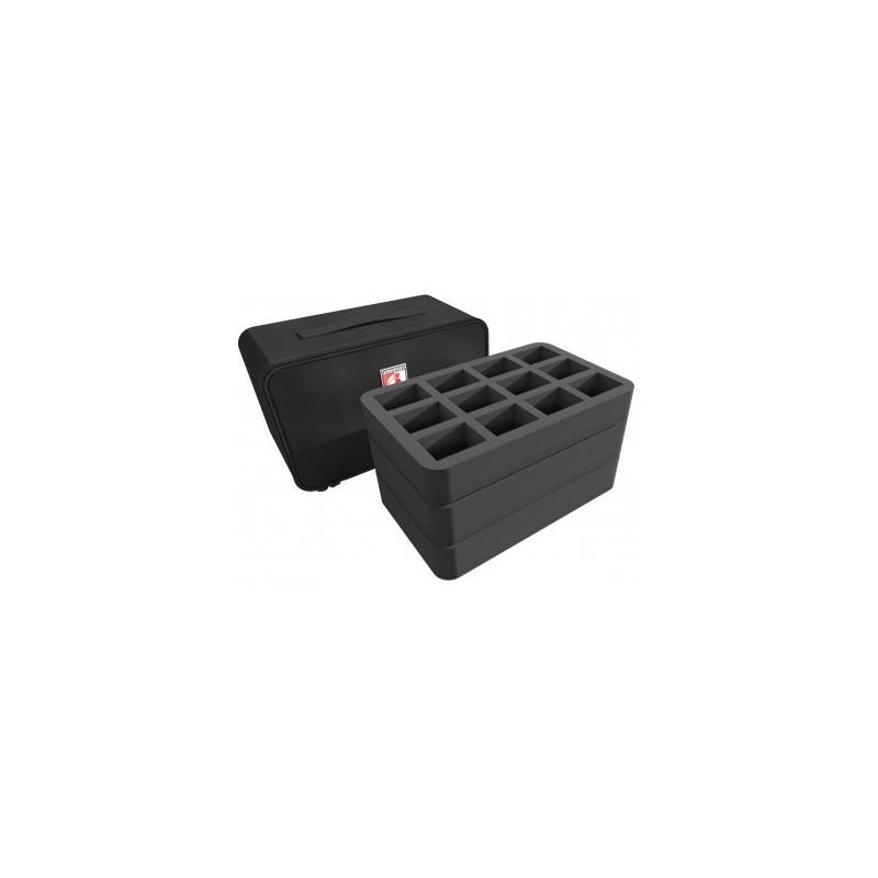 Feldherr MINI PLUS Case for 44 Blood Bowl miniatures - 2016 Edition