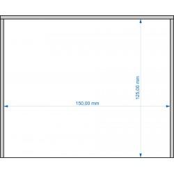 Plateau de mouvement 150x125mm