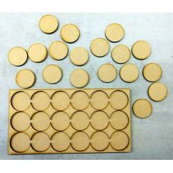 Plateau de mouvement 6x3 Socles Rond diamètre 32mm