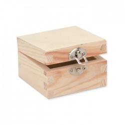 Boîte carrée 7x7x4cm, FSC