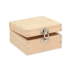 Boîte carrée 10x10x5,5cm, FSC