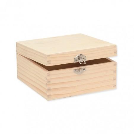Boîte carrée 16x16x8,5cm, FSC