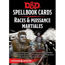 Dungeons & Dragons : Cartes de sorts: Martial