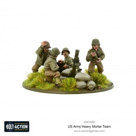 US Army Heavy Mortar Team